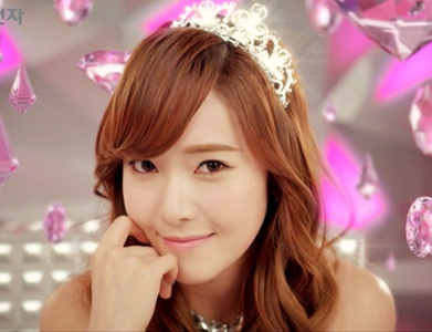 Jessica is cold looking and she doesn't talk much in variety show she just looks chic and blank so she's called the Ice Princess