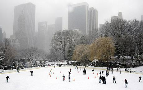 well of course when it's december snows always coming in the n.y.c let it snow , let it snow :3