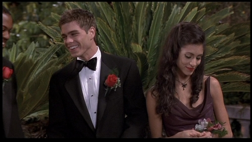 Matthew in a tux!! He's so handsome and cute!!