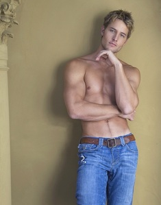 Justin Hartley, in a photoshoot from 2008 all I say is... yummy!!!