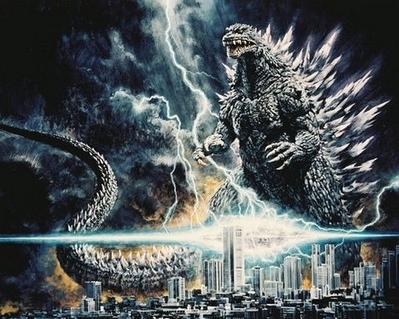 Godzilla movies.