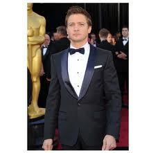 Jeremy wearing his tuxedo :) charminggggg. -Jeremy Renner-
