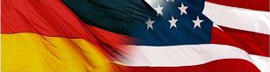 i'm mostly American but i have some German in me from both my parents cause they have family members that are German