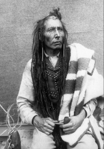 I'm full blood Plains Cree, first nations of Canada. :L Okay, I'm part Ojibwe....