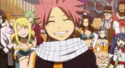 Natsu, 或者 the all of Fairy Tail, :3 taught me to appreciate my 老友记 更多 and my life ^^