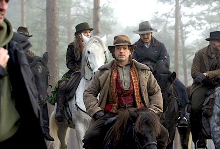 "haha Rob and a ""horse"" ^^"