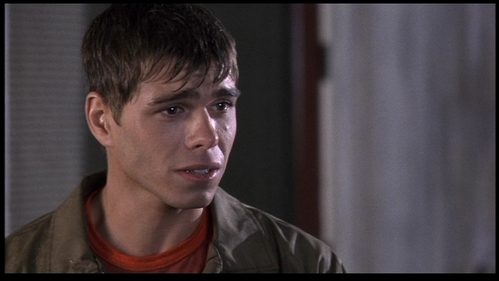 Billy (Matthew Lawrence) is very emotional.