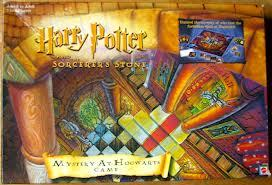 I have Harry Potter Cluedo. It's the Philosopher's Stone version, not the Sorcerer's Stone, but I couldn't find I picture of it. I think I also might have a Goblet of fuego PlayStation2 game somewhere.