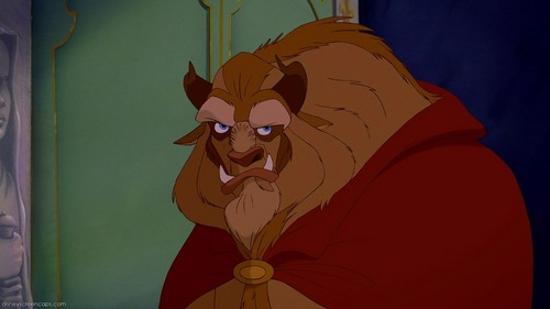 My favorito Childhood Animated Movie Hero is Beast from Beauty and the Beast. He is flawed and shows great growth during his movie. He has been my favorito for years and years.
