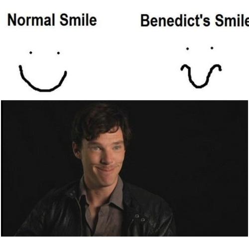 Yep! His smile is unique <3