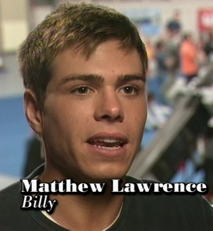 Yes, I have a very strong crush on Matthew Lawrence. I lust him on Boy Meets World and The Hot Chick. I have alot of pics of him on my bedroom wall. I see him when I got to постель, кровати and when I wake up. *sighs* I could just give him hickeys. LOL