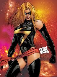 I haven't got a crush on a real-life person, but I have a crush on this comic character. Miss Marvel...don't judge.