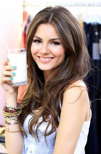 None right now, but the closest I have to one is on Victoria Justice