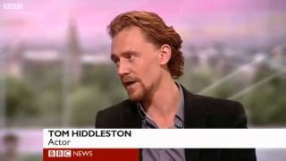 Scottish Hiddles being interviewed for BBC