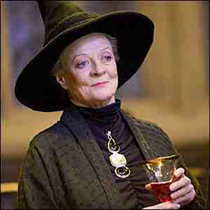 Unfortunately I never actually met her,because she died a few years before I was born,but my great grandmother looked a lot like Minerva McGonagall! Btw she was also a teacher and a brilliant and talented woman, as I've been told, so yeah, I guess she had many things in common with professor McGonagall.