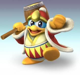 My favourite video game character ever is King Dedede from the Kirby series, I feel a bit identified with him, I love his theme song, his design and attacks. He first appeared in ''Kirby's Dream Land'' in 1992 and has appeared in multiple games since then.
