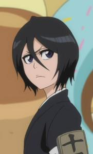 Whatever. It depends on which style Suits better the character. I like both styles equally, but this time I'll go with short because my currently fave one (Rukia Kuchiki from Bleach) wears her hair short.