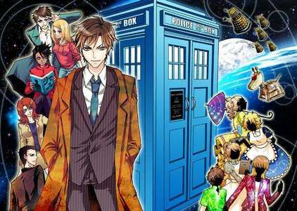I upendo manga and Dr.Who! go for it!