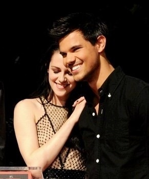 My Taylor Daniel Lautner with Kristen Stewart @ the Chinese Theater in LA