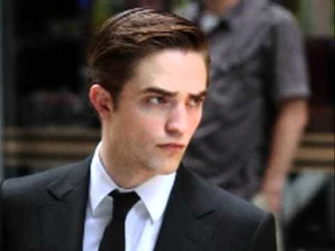 my Robert,in Cosmopolis,with slicked back hair<3