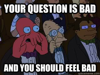 Zoidberg begs to differ.