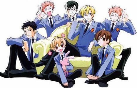 why the ouran high school host club of course!