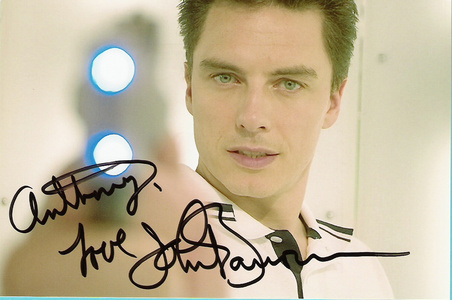 John Barrowman autograph♥