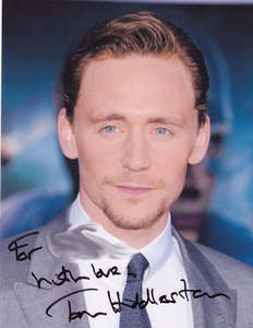 Hiddles, not mine though... unfortunately