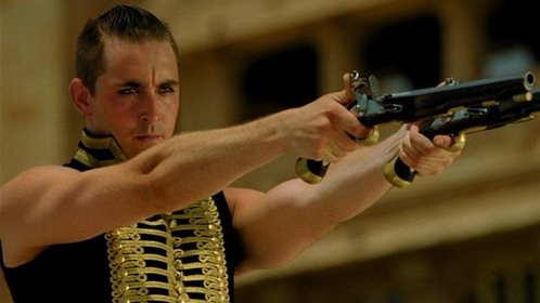 *Two guns ^^ Lee Pace in The Fall
