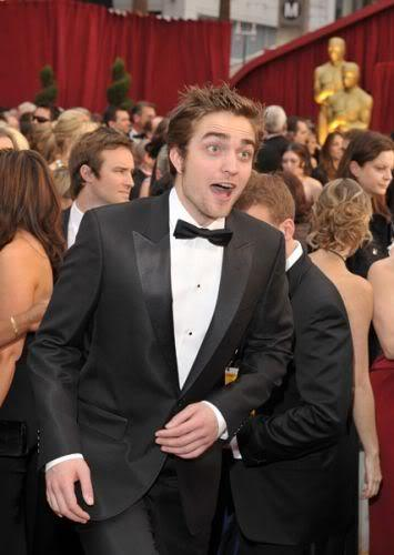 my sweet,lovable Robert making a silly face<3