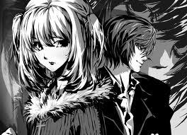 I'd call this a sad couple in one sense of the word. Misa Misa x Light Yagami, Death Note.