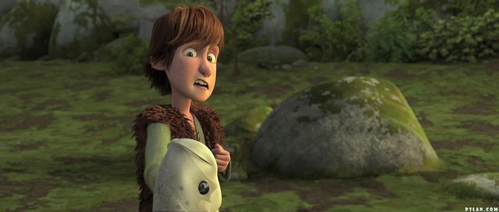 Hiccup :D He's sweet, adorable, brave, and even though my love for him is relatively new, I still love him to bits.