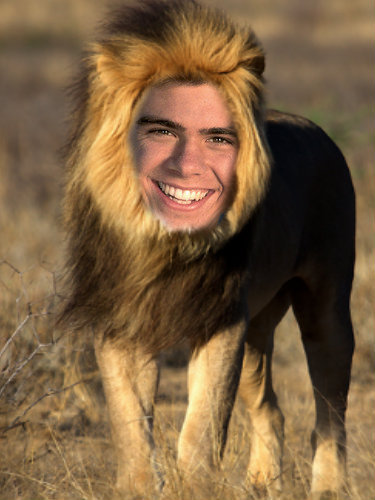 Matthew is the king of beasts!! lol