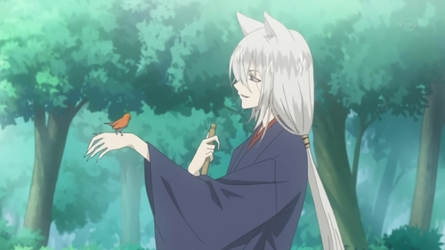 Does he count? Tomoe from kamisama He's a fox, mbweha demon