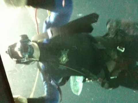 John Barrowman scuba diving ;)