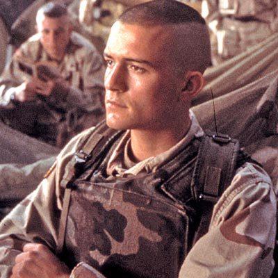 Американский солдат стрижка