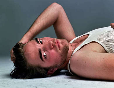here is a pic I haven't 投稿されました yet of my Robert,lying on the ground and looking oh soo HOT and SEXY<3<3