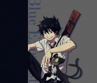 rin and kuro <3 ~ from ao no exorcist