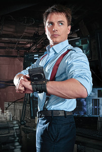 John Barrowman and for me, Blue ;) Blue is perfect for Jb :P