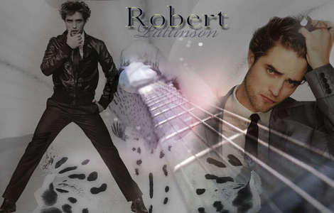 according to a website dedicated to my gorgeous Robert,his shoe size is 10.You know what they say about guys with big feet!!!<3