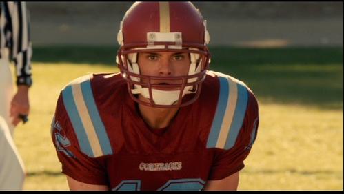 Matthew playing football. :)
