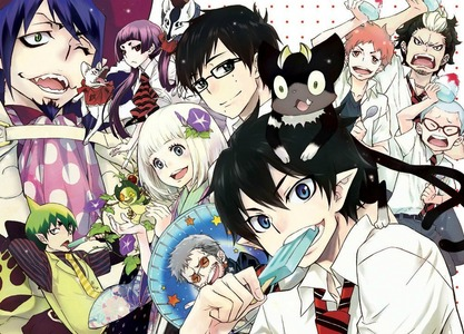 Blue Exorcist. Yes... all of the YES. <3 :3