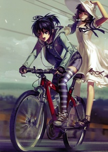 Mato and Yomi from Black Rock Shooter.