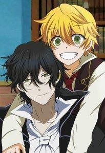 Oz-san and Gil-kun XD! So cute!