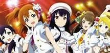 School Idol Project.... It's a pretty new anime :)