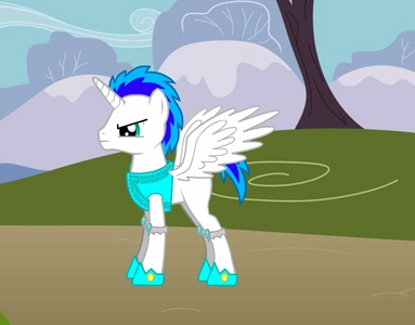 "Hi, I'd like to menyerahkan my OC, Diamond Armor for a place in the mane six. He is I fact a male, but I think it'd be cool to have a male as a member of the mane six. I can't really decide what I want him to be in the animasi though...either a Pegasus atau a unicorn. I have a picture of him saved with wings and a horn, so anda would get the general look of him as either species. Diamond Armor has a very friendly personality and he tries to help everypony as much as he can, but can get a bit shy when it comes to flirting atau being around somepony he has a crush on. His hobby is actually hanging out with his friends and he also likes to get out a lot. His favorit thing of all though, is making friends. Diamond's job is kinda like that of Rarity's. He digs atau mines for diamonds and other gems and makes them into clothing atau types of tools. So he is pretty much a blacksmith. Fact: Diamond Armor is capable of playing a multiple amount of instruments. Mostly orchestral woodwinds and brass. Diamond Armor has a very interesting back story. He lived with his single mother and his little brother, Lightning Strike. His father passed away when a mine collapsed when he was just a little colt. He was in school that hari and when he got home, his mother couldn't even stop crying for a second. His brother crawled in as he was just a baby, his mother picked him up and said... ""My little Diamond... Your father has had an accident... He was in a mine when it collapsed... I'm so sorry..."" Diamond was devastated and he stayed in his room for 2 days straight... Then he found a letter from his father inside his bantal case. It said, ""Diamond Armor, I cinta anda with all my heart, please take care of your mother and brother for me...You need to fill my shoes son, make the Armor family proud. Sincerely, Iron Armor."" Diamond was inspired and he followed what his father instructed, but he didn't understand how his father knew what to write on the paper...maybe he knew his time was coming. So Diamond went on making his father proud oleh making profits for their family business of selling clothing and tools made completely out of diamonds and other gems. His true quest is to find what really happened to his father because the letter he received was too perfect. I hope anda consider having my OC in the tampil even though he has a rather dark back story... thanks for your time. And I can't wait until anda start animating! The picture is him with both wings and a horn, but I think I'd rather him be a unicorn. I will upload another pic with him with just a horn if you'd like."
