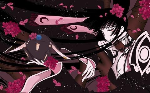 I hope you don't mind me answering. ^^ Here are mine- Suigintou (Rozen Maiden) Yuuko Ichihara (xxxHolic) C.C. (Code Geass) Lain Iwakura (Serial Experiments Lain) Lucy/Nyuu/Kaede (Elfen Lied) Ai Enma (Jigoku Shoujo) Homura Akemi (Puella Magi Madoka Magica) Celty Sturluson (Durarara!!) Lia de'Beaumont (Le Chevalier D'Eon) Maho Minami (BECK Mongolian Chop Squad)
