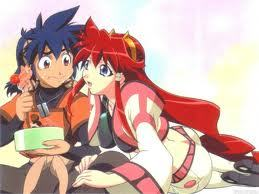 hibiki toki from vandread the girl (Dita) likes 2 cook for him and watch him eat