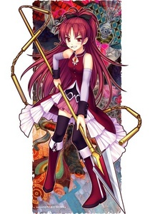 Kyoko Sakura from Puella Magi Madoka Magica.