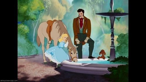 So I'm now a horse, dog, Cinderella, and Cinderella's Father. Interesting...